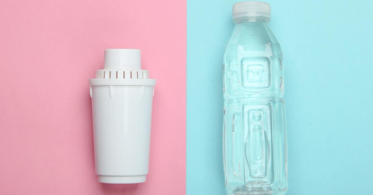 Pet palack VS vízszűrő